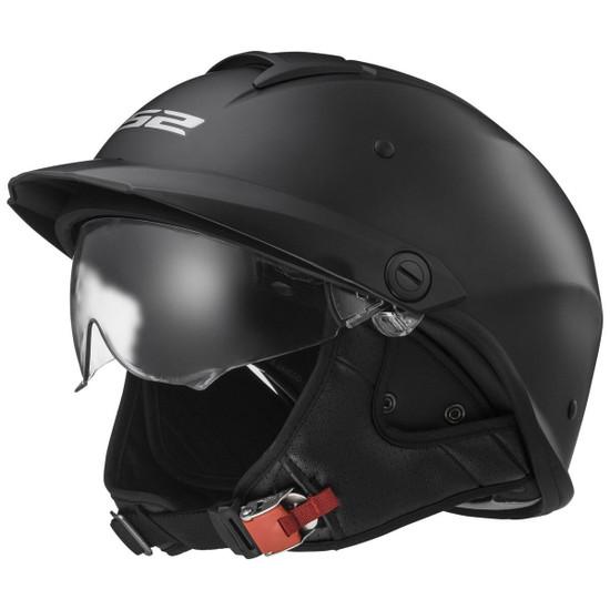 LS2 Rebellion Helmet - Matte Black