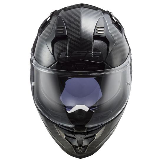 LS2 Challenger Carbon Helmet - Front View