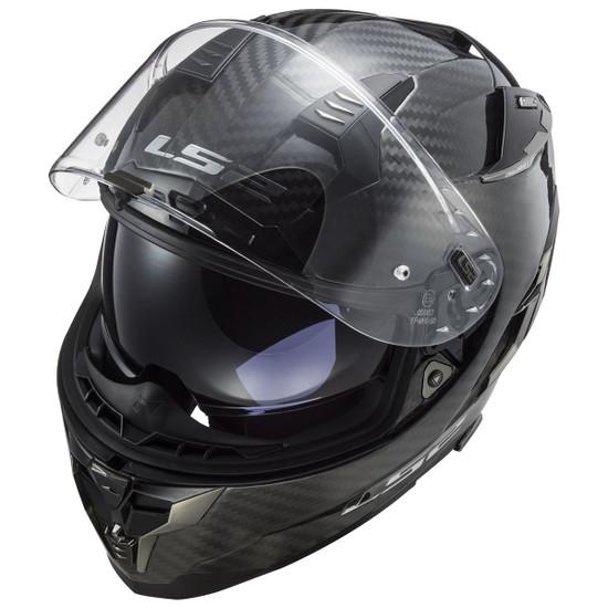 LS2 Challenger Carbon Helmet - Top View