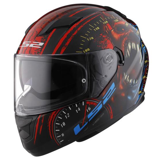 LS2 Stream Speed Demon Helmet