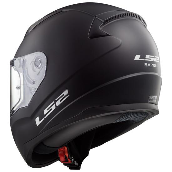 LS2 Rapid Helmet - Rear View