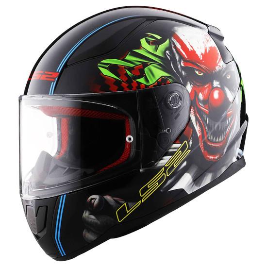 LS2 Rapid Happy Dream Glow In The Dark Helmet