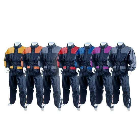 Thunder Under RS5031 Mens and Womens Two Piece Rainsuit Motorcycle Rain Gear