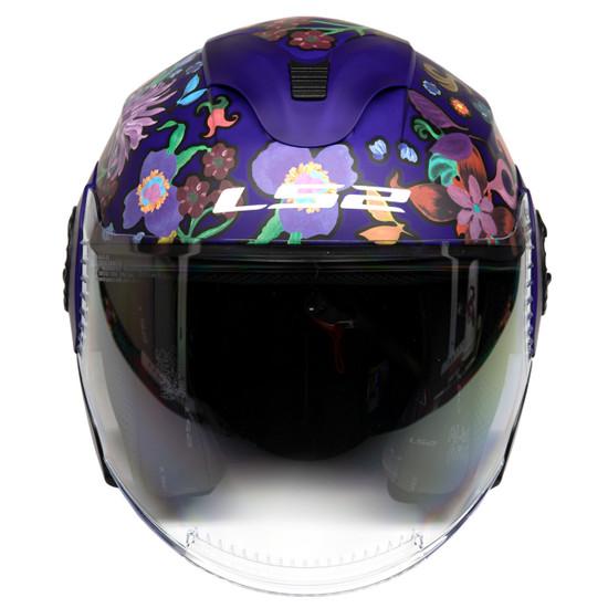 LS2 Verso Flora Brazil Helmet - Front View