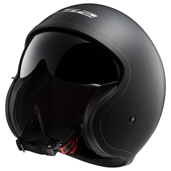 LS2 Spitfire Helmet - Detail View