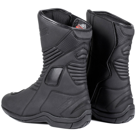 Tour Master Solution V3 Water Proof Motorcycle Boots - Back View