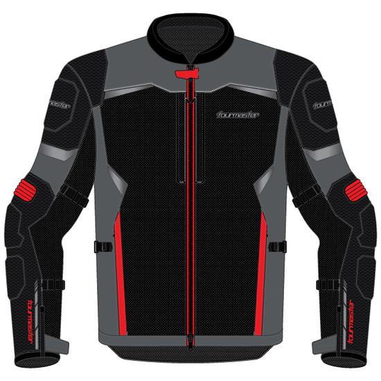 Tour Master Intake Air V6 Jacket-Red