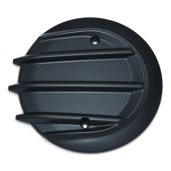 Kuryakyn Tri-Fin Primary Cover Cap For 2014-2020 Indian Motorcycles - Black