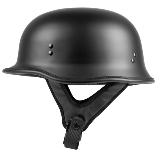 Highway 21 9MM German Beanie Helmet - Matte Black