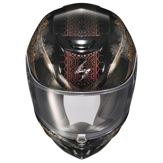 Scorpion EXO-R420 Namaskar Helmet - Top View