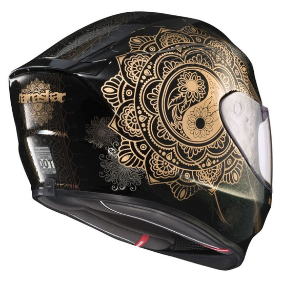 Scorpion EXO-R420 Namaskar Helmet - Rear View