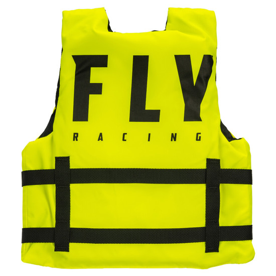 Fly Youth Nylon Vest - Neon Back View