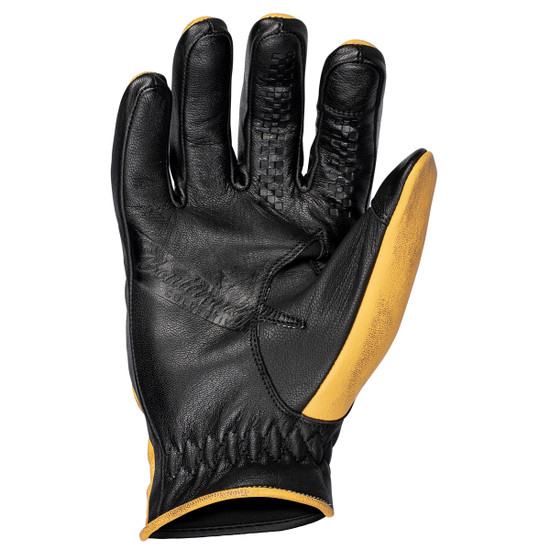 Cortech El Camino Gloves-Gold-Palm-View