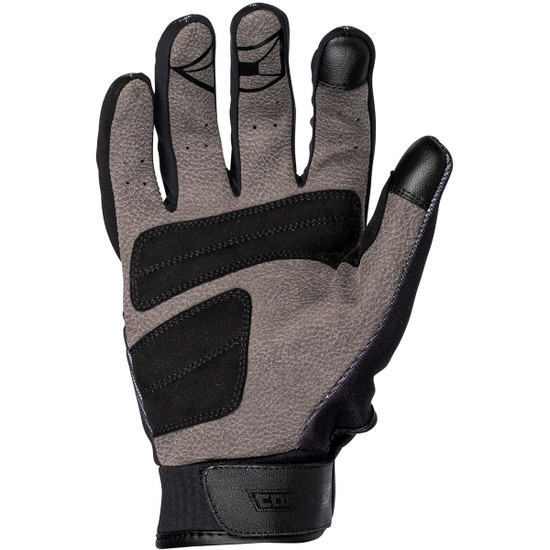 Cortech Hell-Diver Gloves-Black/White-Palm-View
