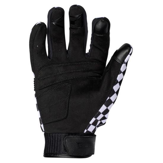 Cortech Thunderbolt Gloves-Black/White-Palm-View