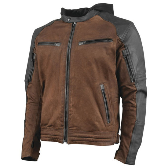Speed and Strength Mens Straight Savage 2.0 Jacket - Brown
