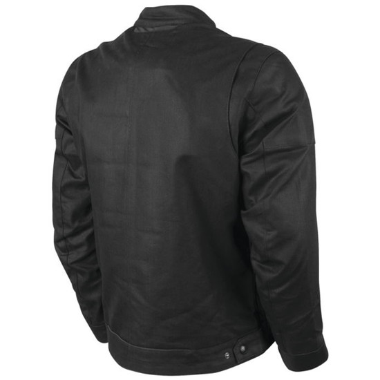Speed and Strength Mens Rust And Redemption 2.0 Textile Jacket - Black Back View