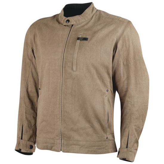Speed and Strength Mens Rust And Redemption 2.0 Textile Jacket - Sand