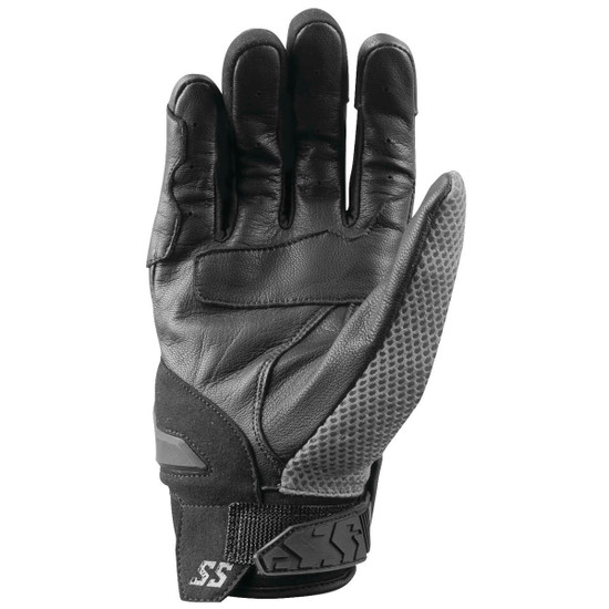 Speed and Strength Moment Of Truth Gloves - Grey Back View