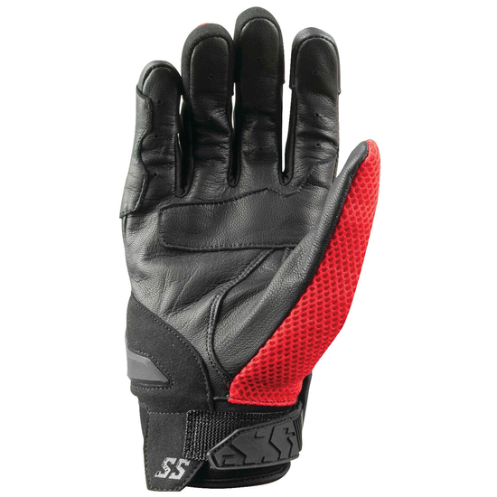 Speed and Strength Moment Of Truth Gloves - Red Back View