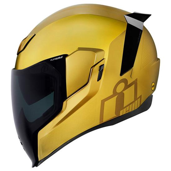 Icon Airflite Jewel MIPS Helmet - Gold Side View