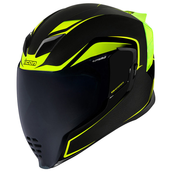 Icon Airflite Crosslink Helmet - Hi-Viz