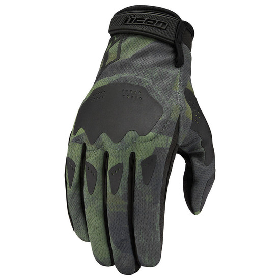 Icon Hooligan Battlescar Gloves - Green