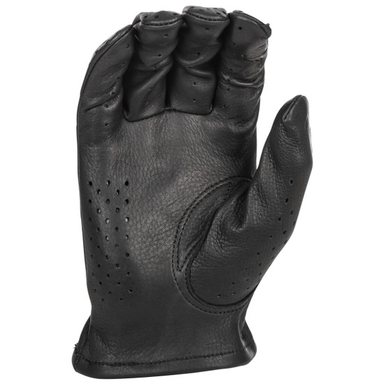 Highway 21 Perforated Louie Gloves - Black Palm View
