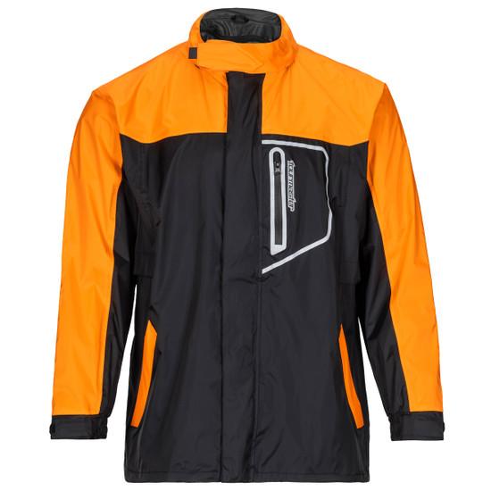Tour Master Defender Two-Piece Rainsuit - Orange