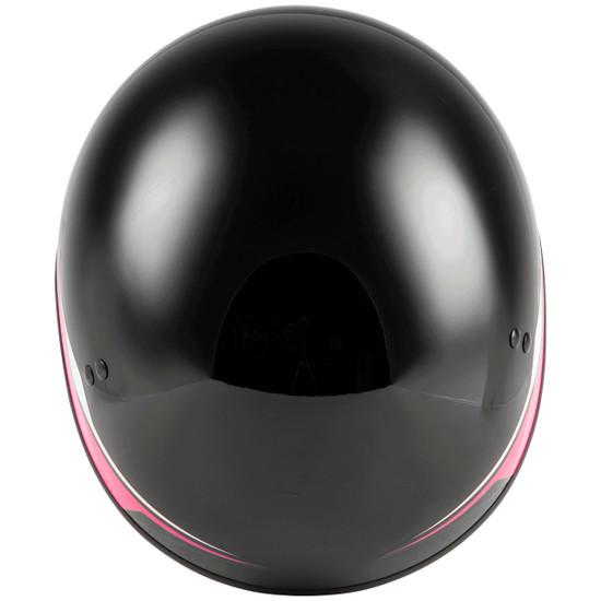 GMax Women's HH 65 Source Naked Half Helmet-Top-View