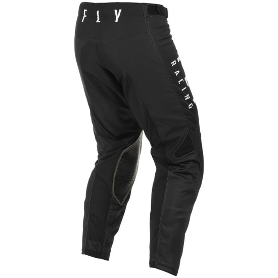 Fly 2021 Kinetic Mesh Pants-Black/White-Back-View