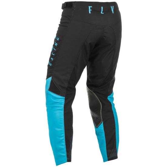Fly 2021 Kinetic Mesh Pants-Black/Blue-Back-View
