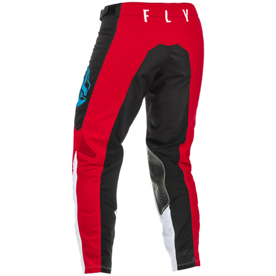 Fly 2021 Kinetic Mesh Pants-Black/Red-Back-View