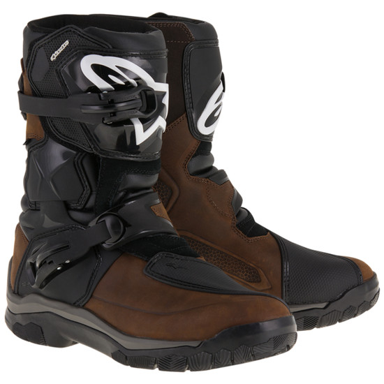Alpinestars Belize Drystar Oiled Leather Boots-Brown