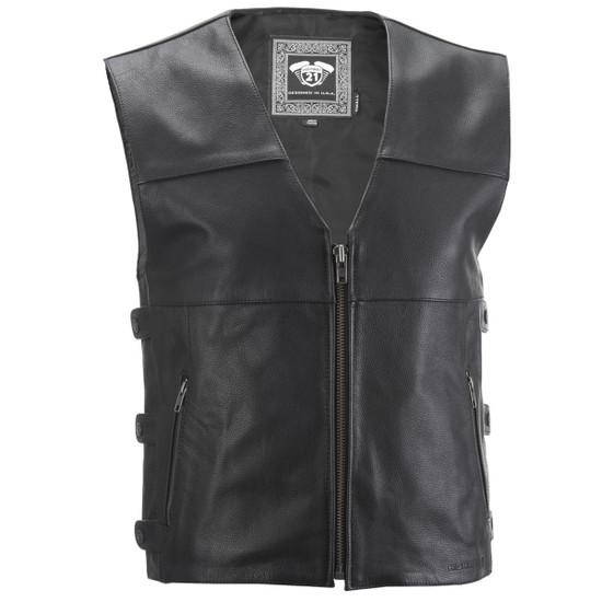 Highway 21 12 Gauge Leather Vest