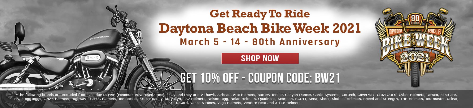 Daytona Beach Bike Week 2021