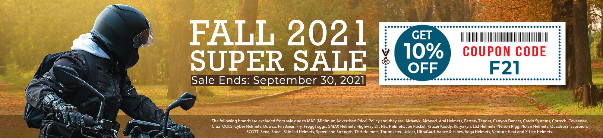 FALL 2021 Super Sale