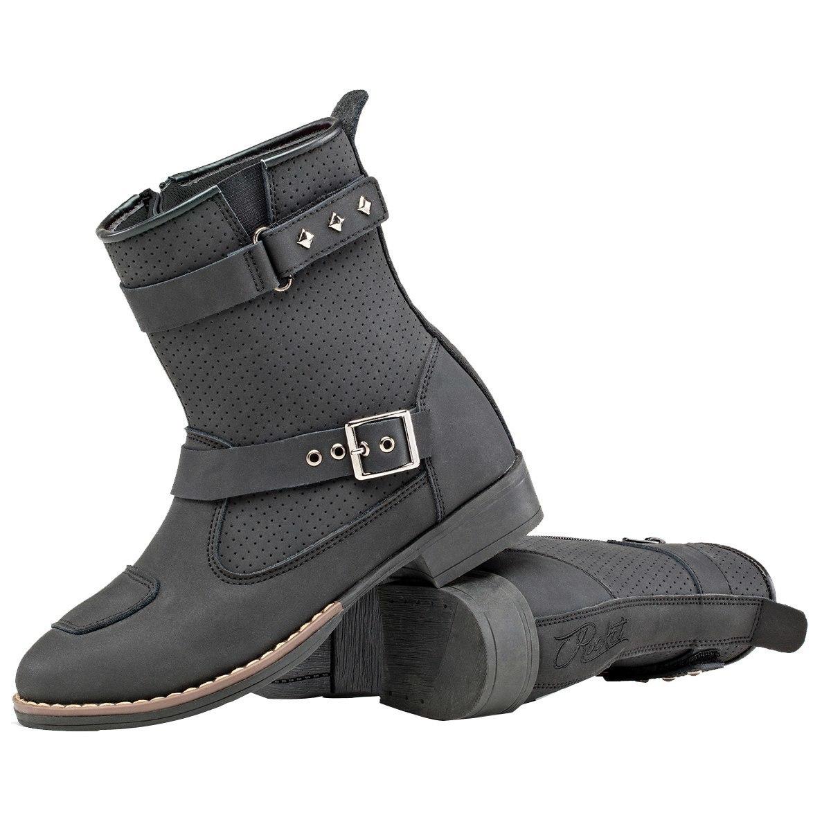 Joe Rrocket Heartbreaker Women/'s Ladies Motorcycle Boot Choose Size