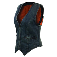 Womens Denim Vests