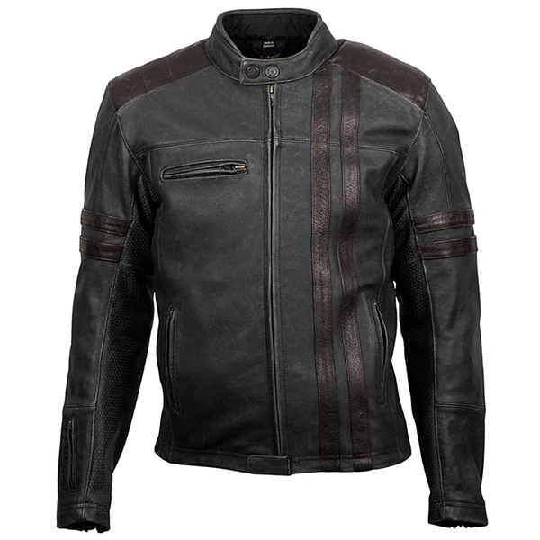 scorpion Soft distressed top grain leather