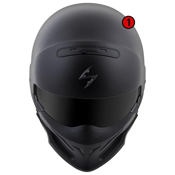 scorpion helmet Advanced LG Polycarbonate Shell