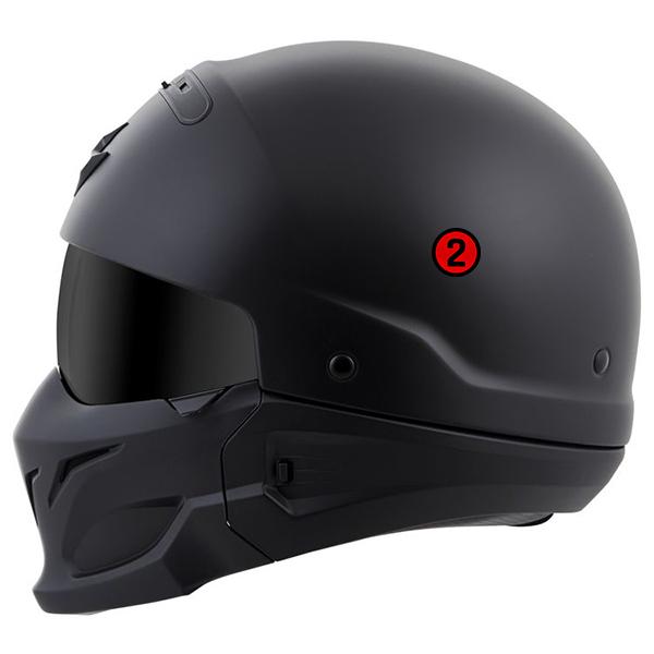 scorpion helmet Dual Density EPS