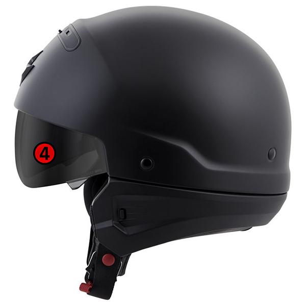 scorpion helmet EverClear SpeedView Drop-Down SunVisor