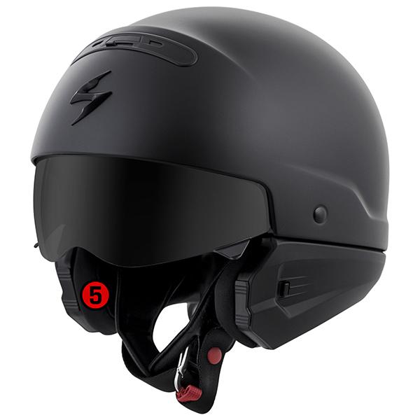 scorpion helmet KwikWick II Anti-Microbial Comfort Liner: KwikWick II