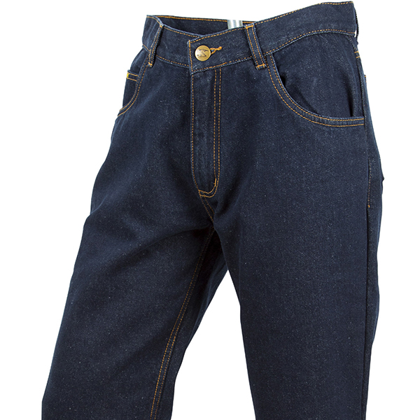 scorpion jeans 165GSM DuPont Kevlar lining from knee to waist.