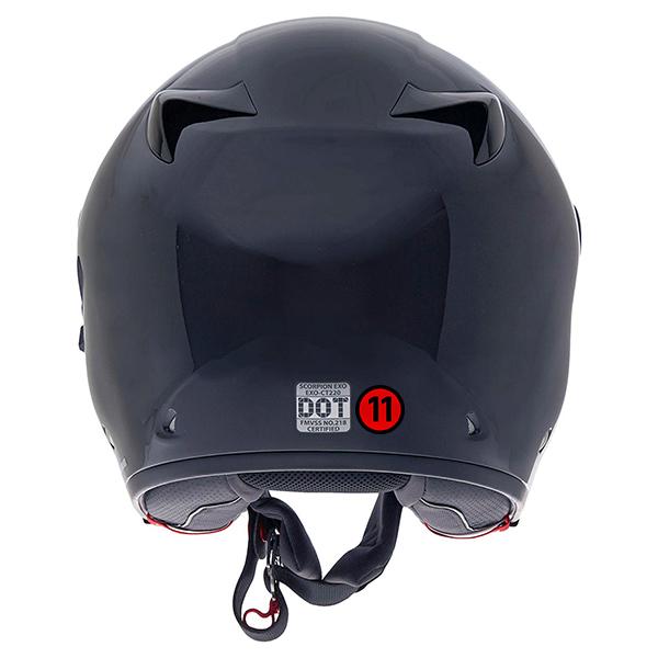 scorpion helmet DOT-218 Approved