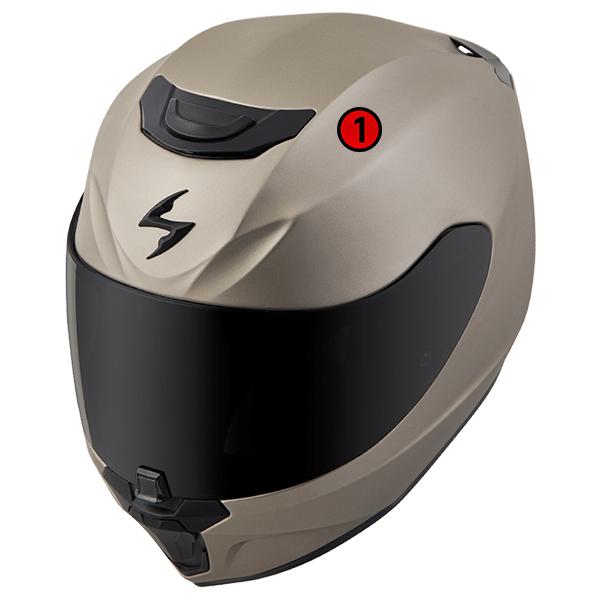 scorpion helmet Advanced LG® Polycarbonate Shell
