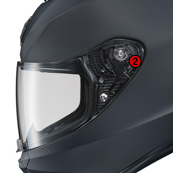 scorpion helmet Ellip-Tec II Ratchet System