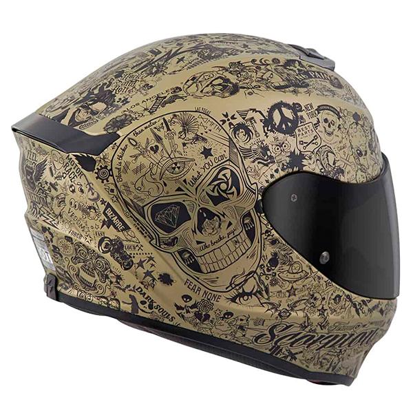 scorpion helmet DOT/SNELL Certified