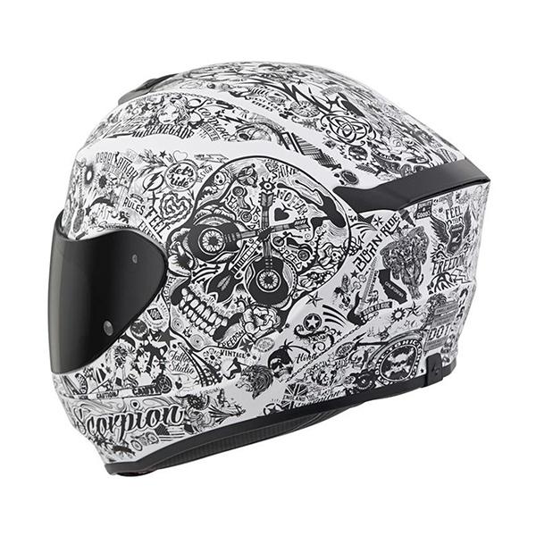 scorpion helmet KwikFit Cheek Pads Accommodate Eyeglasses